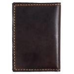 Carteira Porta Cartões e Documentos Em Couro Legítimo