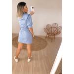 Vestido Bela Azul