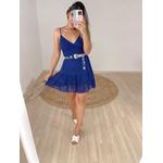 Vestido Flávia Azul