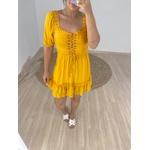 Vestido Andreza Mostarda