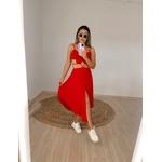 Vestido Lorraine Vermelho