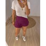 Short Saia Mirella Roxo