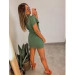 Vestido Jeans Colors Verde