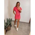 Vestido Jeans Colors Coral