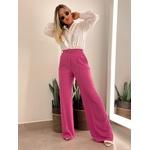 Calça Pantalona Moletinho Rosa