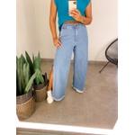 Calça Jeans Fenda