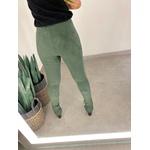 Calça skinny Suede Verde