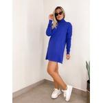 Vestido Tricot Azul Bic