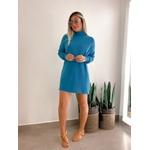 Vestido Tricot Azul