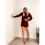 Vestido Alicia Marsala