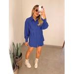 Camisa Giovana Azul