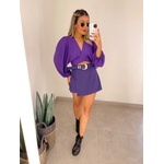 Cropped Camila Roxo