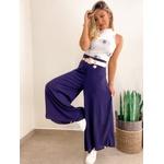 Calça Pantalona CF Azul