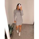 Vestido Nina Cinza