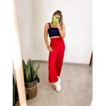 Calça Pantalona Íris Vermelha