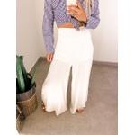 Calça Pantalona Cf Marfim
