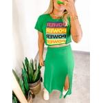 Cropped Camiseta Power Verde