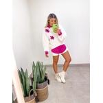 Tricot Flor Pink