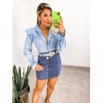 Camisa Selena Azul