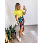 Cropped Camiseta Tricot Única