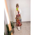 Vestido Longo Étnico
