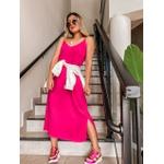 Vestido Midi Malu Pink