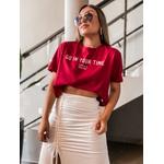 Cropped Camiseta Cf Vermelho
