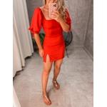 Vestido Lana Vermelho