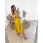Vestido Regina Mostarda