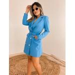 Vestido Blazer Janaína Azul