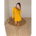 Vestido Blazer Janaína Mostarda