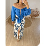 Vestido Vick Azul