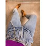 Calça Mom Jeans Claro