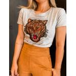 Tshirt Tigre Cinza
