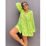 Camisa Bata Rhayssa Verde