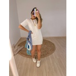 Camisetão Milena Branco