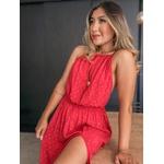 Vestido Luz Vermelho