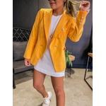 Blazer Botões Amarelo