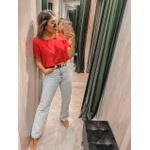 Cropped Camiseta Vermelho