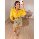 Camisa Regina Amarela Amarela