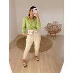 Camisa Laise Cinthia Verde Verde