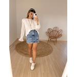 Blusa Leandra Branca Branca