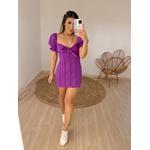 Vestido Sabrina Roxo