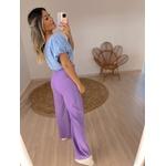 Calça Pantalona Coralina Lilás