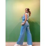 Calça Pantalona Coralina Azul