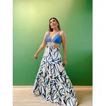 Vestido Agatha Azul