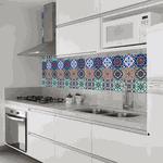 Tecido Adesivo (Azulejo Hidráulico)