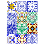 Tecido Adesivo (Azulejo Português)