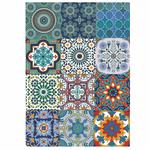 Tecido Adesivo (Azulejo Marroquino)