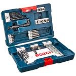 Kit Acessórios V-Line Azul Com 41 Peças - Bosch